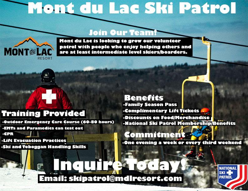 MontDuLac Recruitment Poster